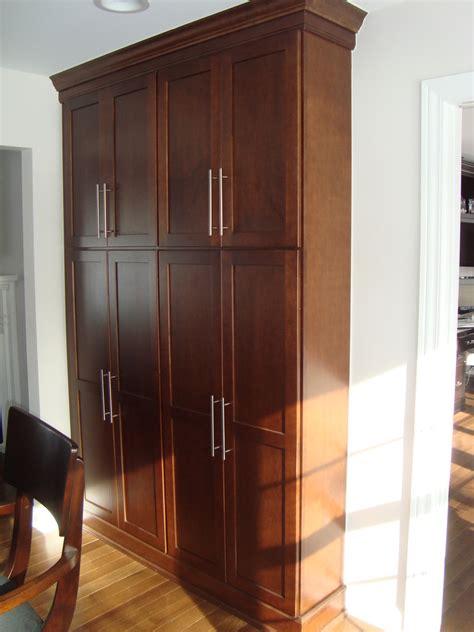 elegant freestanding pantry cabinet decoration ideas