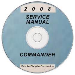 2008 Jeep Commander Owners Manual 2008 Jeep Commander Xk Service Manual Cd Rom Xml Svg