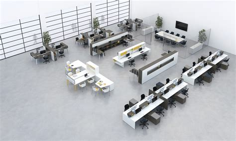 layout workstation design your office with a gym style layout to increase