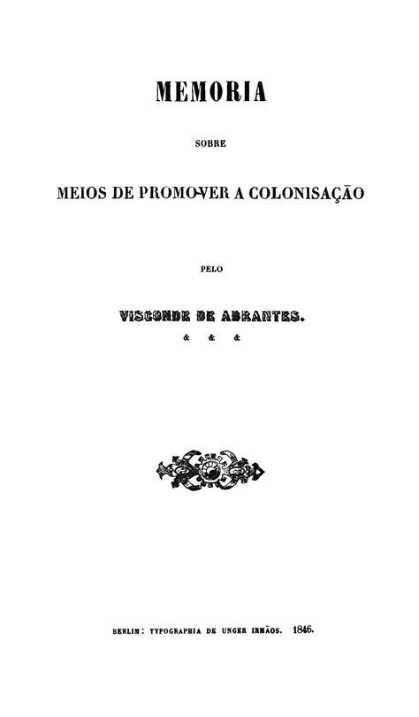 Biblioteca Brasiliana Guita e José Mindlin: Memoria sobre