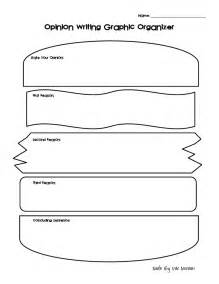 opinion writing template 3rd grade graphic organizers