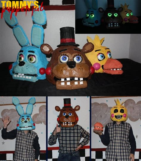 puppets  cosplay masks tommys puppet lab