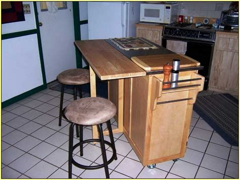 Movable Kitchen Islands With Seating Movable Kitchen Island With Breakfast Bar Home Design Ideas