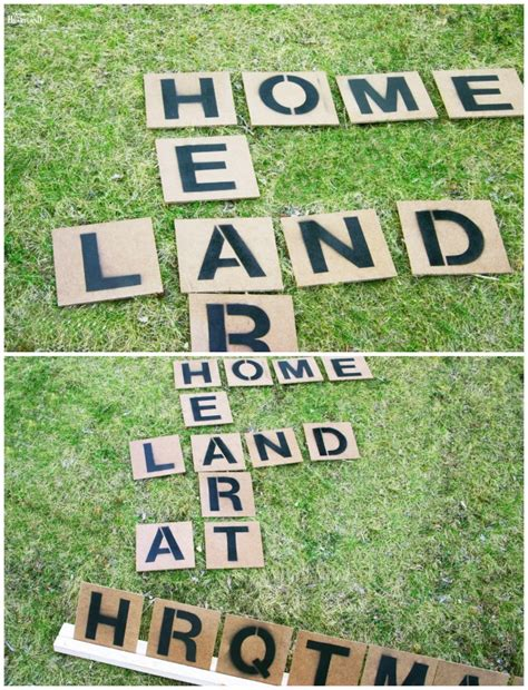 diy backyard scrabble 16 fun diy backyard games for the whole family