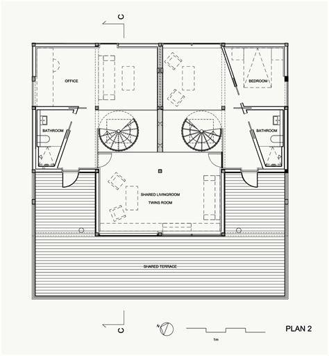 house plan com gallery of twins house jva 10