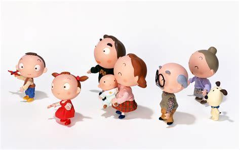 wallpaper cartoon family ครอบคร ว family วอลเปเปอร