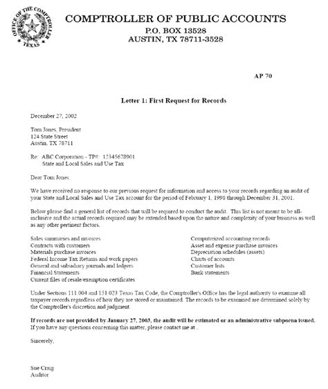 cover letter for out of state exle exle letter requesting sales tax exemption certificate req