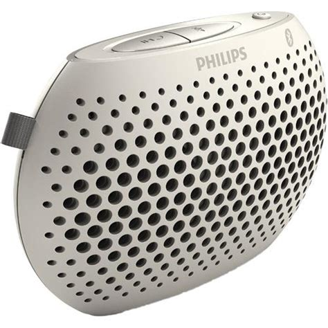 Speaker Mini Philips philips mini bluetooth portable speaker white sbt10whi 37 brandsmart usa
