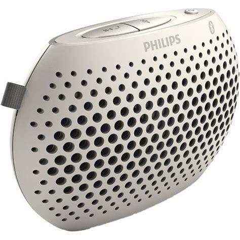 Speaker Mini Philips philips mini bluetooth portable speaker white sbt10whi