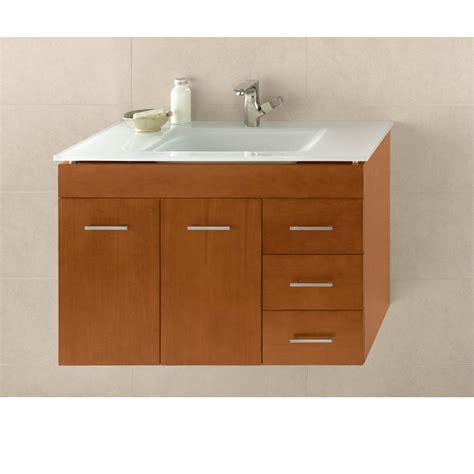 bathroom vanity ronbow ronbow bella 31 quot vanity integrated cinnamon free