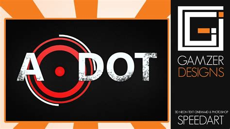 design logo on photoshop cs6 photoshop cs6 a dot logo design speedart youtube