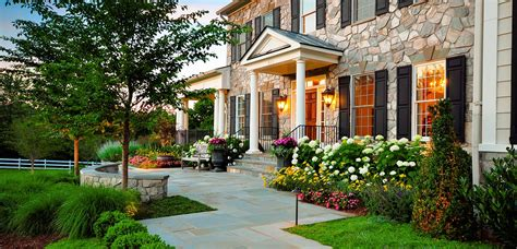 Ideas For Gardens In Front Of House Walkway Rustic Modern House Design With Exposed Wall Exterior Plus Beautiful Garden
