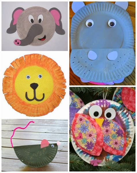 Paper Plate Animal Craft - learn with play at home 20 fabulous paper plate animal crafts