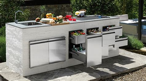 outdoor kitchen furniture modern modular outdoor kitchens amazing modular outdoor