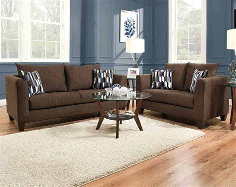 chocolate brown sectional sofa with camino chocolate sofa loveseat american freight