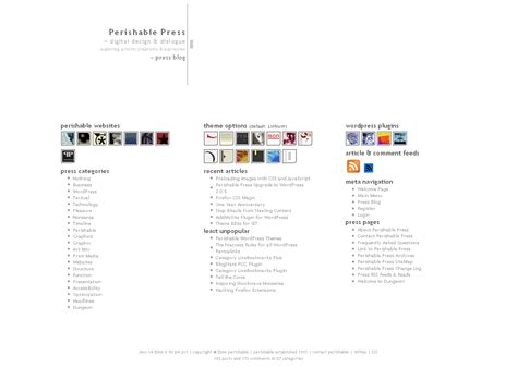 minimalist themes minimalist theme perishable press