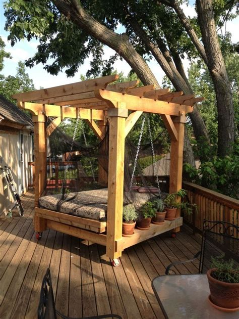 swing beds outdoor best 25 outdoor swing beds ideas on pinterest porch