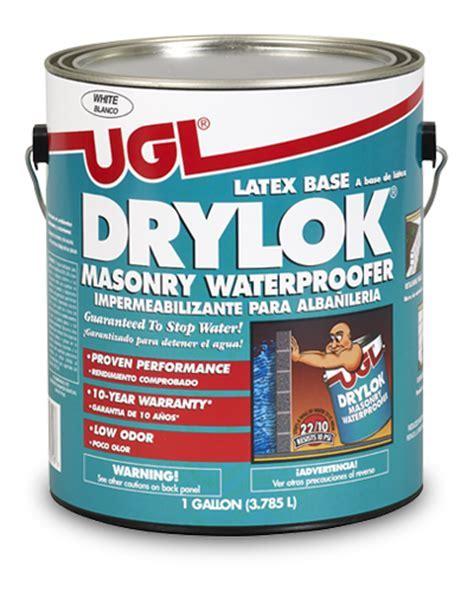 UGL   Products for Treating Masonry