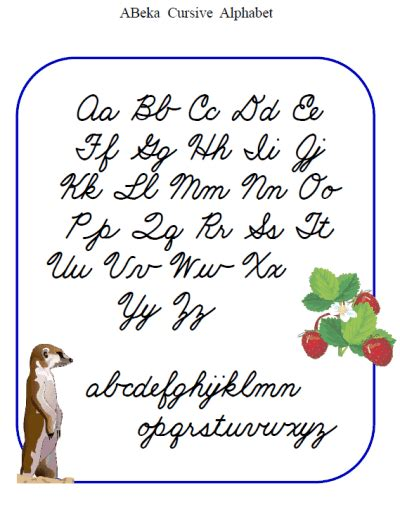 printable cursive letters free printable cursive alphabet new calendar template site