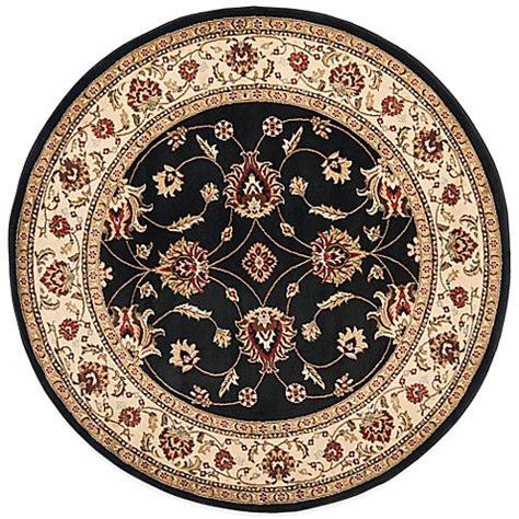 vanity rug safavieh vanity black ivory 5 foot 3 inch rug bed bath beyond