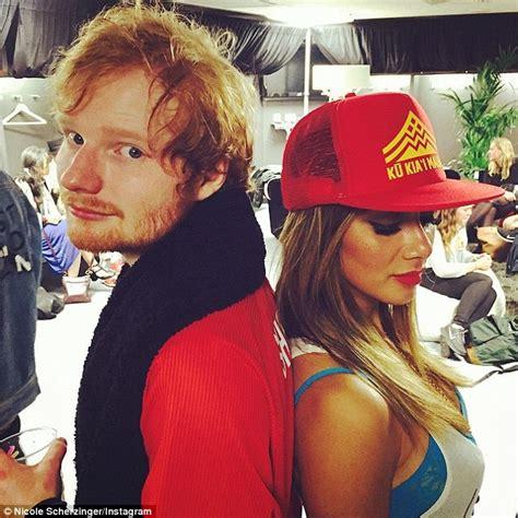 ed sheeran couple tattoo ed sheeran 24 and nicole scherzinger 37 dating after