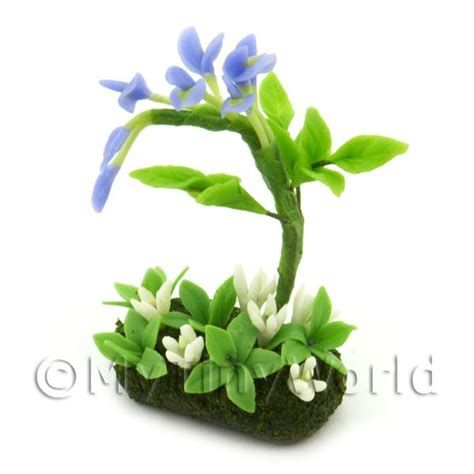 dolls house flowers dolls house miniature flowers and plants dolls house miniature flower bed wisteria