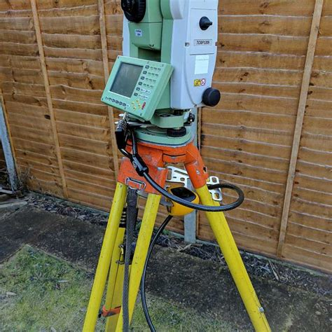 Tripod Total Station wren a guard total station lock alarm and lanyard for tripod