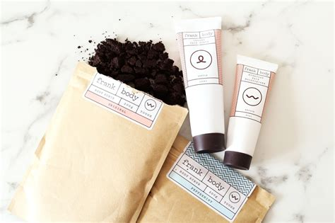 Frank Coffee Scrub aussie brand frank is taking the world by