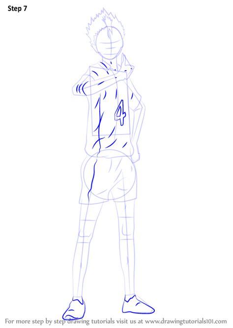 learn   draw yu nishinoya  haikyuu haikyuu