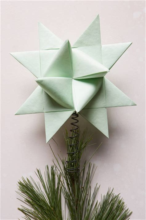 Origami Tree Topper - origami tree topper everything turquoise