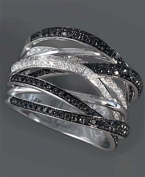 black white rings wedding promise
