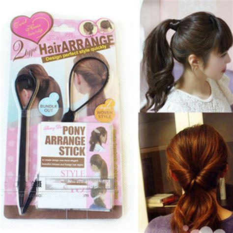 hair styles using aneedle new style fashion black pull hair needle hair arrange