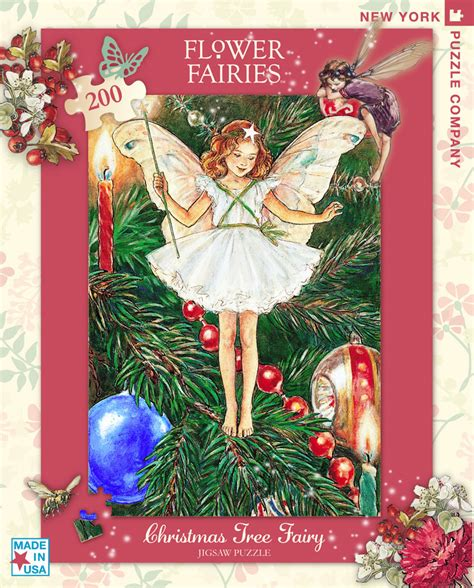 printable christmas tree fairy christmas tree fairy children s puzzles puzzlewarehouse com