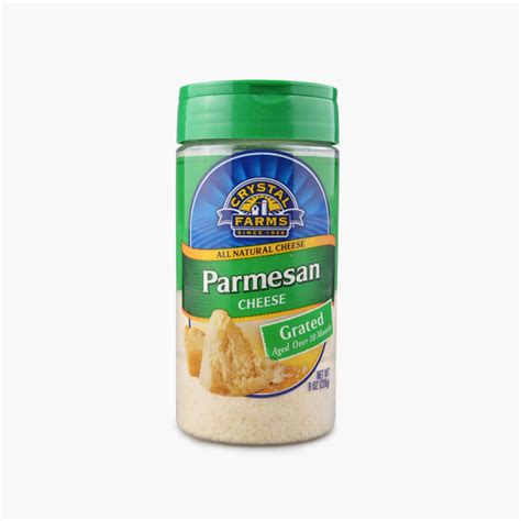 Grated Parmesan Cheese Shelf by Farms Grated Parmesan 226g