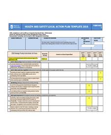 health and safety strategy template word plan template 7 free word document