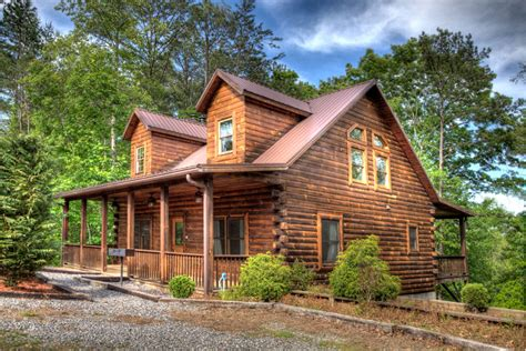 Oak Creek Floor Plans smoky mountain cabin builder portfolio of log homes near