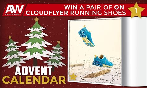 Win A Pair Of by Athletics Weekly Win A Pair Of On Cloudflyer Running