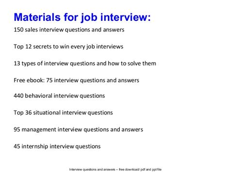 interview questions sales specialist interview questions