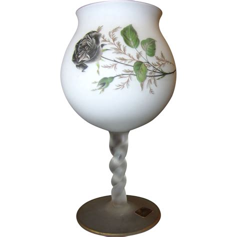 Norleans Vase by Norleans Frosted Candle Holder Vase From