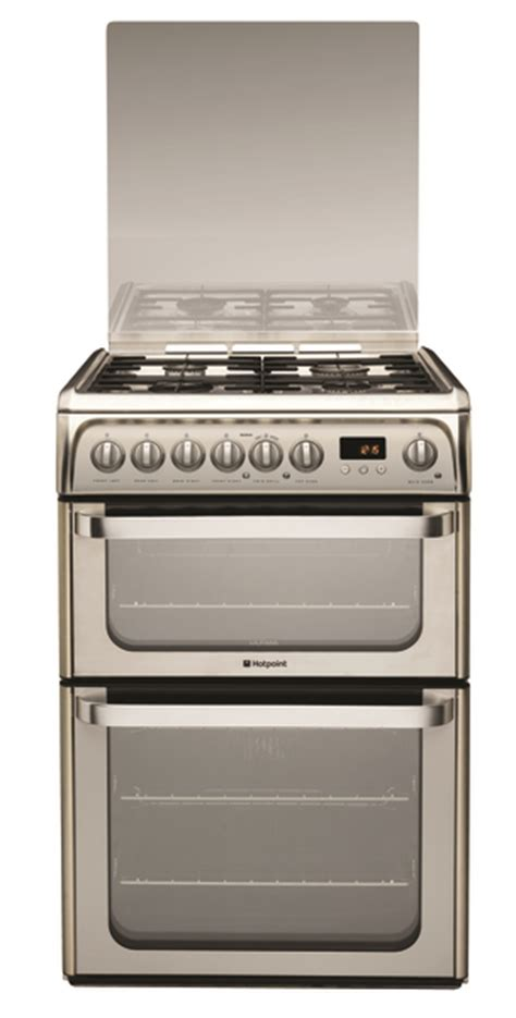 Oven Gas 60 X 40 hotpoint 60cm oven gas cooker hug61x ultima