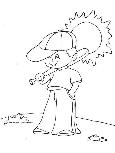 baseball boy coloring page baseball coloring pages coloring pages to print