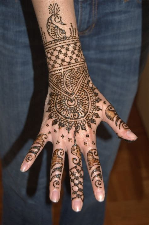 henna tattoo design on hand mehndi designs tattoos