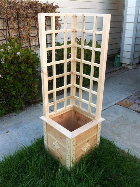 Building Planter Boxes Vegetable Garden by Build Your Own Planter Box Kit Woodworking Projects Plans