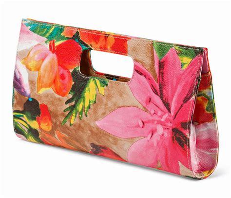 chateau tropical floral print vegan leather clutch bag handbag purse  ebay