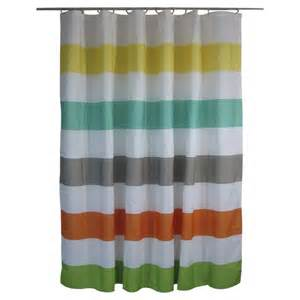 Rugby Stripe Curtains Shower Curtain Circo Rugby Stripes Warm Target Bathroom Warm Rugby And