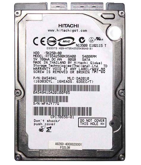 80 Gb Drive Laptop Computer by Hitachi Laptop Drive 80 Gb Sata Buy