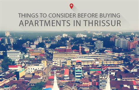 checklist to consider before buying apartments in thrissur