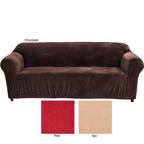 loveseat stretch slipcovers minicord stretch loveseat tight fit solid slipcover