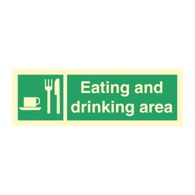 eating and drinking area safety signs signstoyou com eating and drinking area