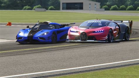koenigsegg top gear battle koenigsegg one 1 vs bugatti gt vision at top gear